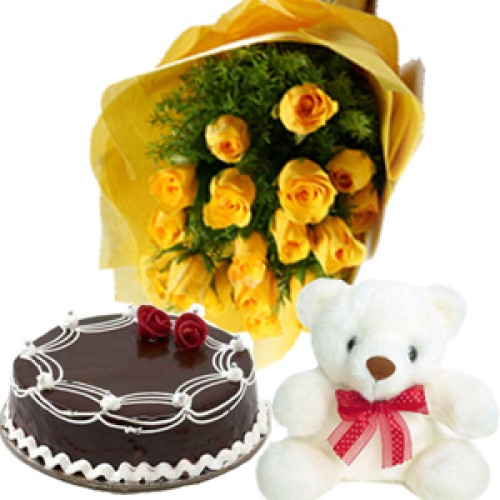 Cakes and Flowers to Hyderabad