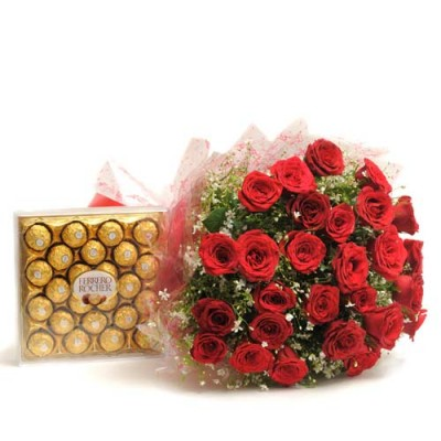 Deliver Flowers and Cakes to Hyderabad