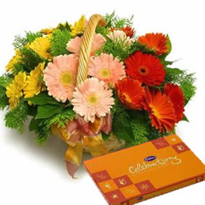Online Flowers and Cakes to Hyderabad