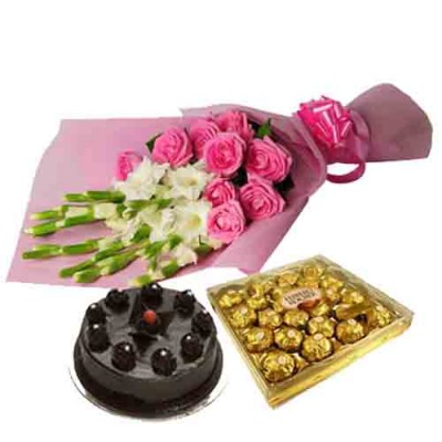 Same Day  Delivery Of Flowers and Cakes to Hyderabad